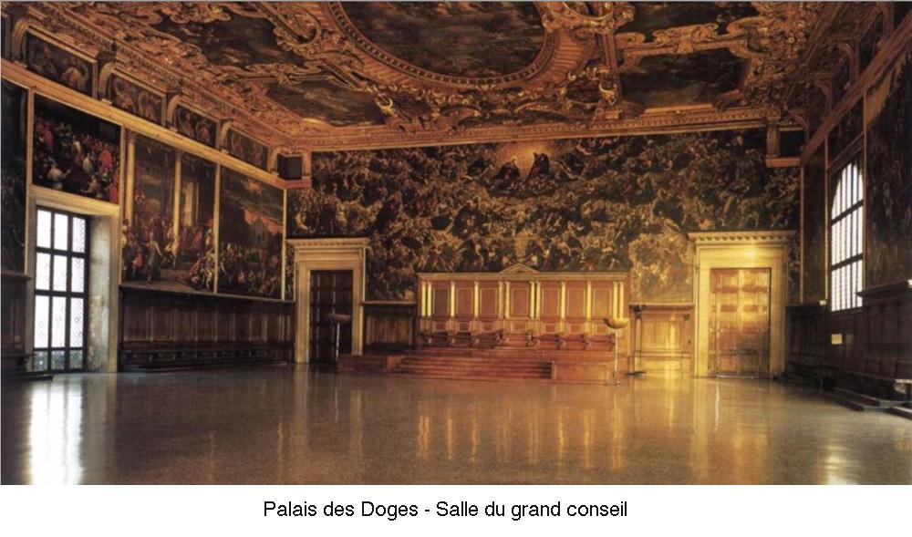 Palais des Doges - Salle du grand conseil