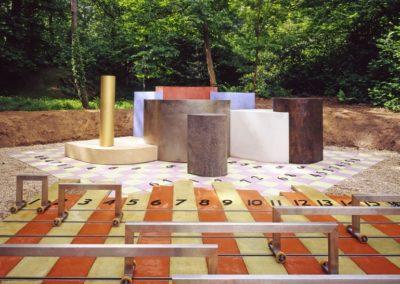 IHES Bures sur Yvette Sculpture mathématique (2005)