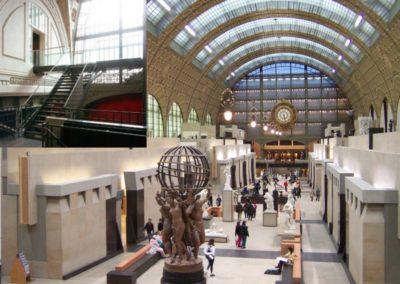 Musée d'Orsay Nouvelle passerelle préfabriquée (2011)