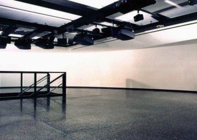 Musée de la résistance Sol thématique coulé en place (1995)