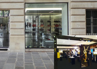 Boutique Yves Saint Laurent Paris (1999)