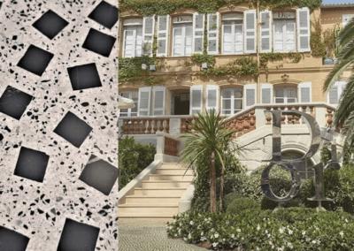 Christian Dior Saint-Tropez - Sol thématique extérieur coulé en place (2019)