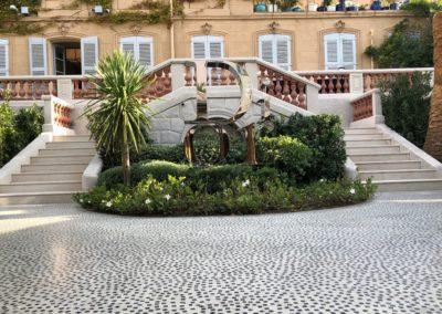 Christian Dior Saint-Tropez - Sol extérieur thématique. (2019)